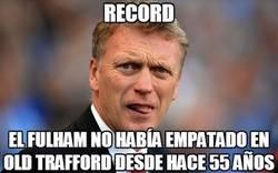 Enlace a Moyes, de record en record con el Manchester United