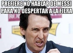Enlace a Prefiere no hablar de Messi para no despertar a la fiera