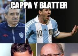 Enlace a Cappa y Blatter, parecidos razonables