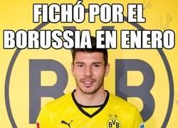 Enlace a Fichó por el Borussia en Enero
