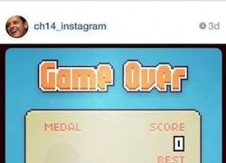 Enlace a Chicharito es terriblemente bueno al Flappy Bird, ¿tú cuánto te haces?