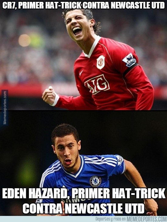 264073 - Hazard y CR7, parecidos razonables