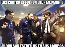 Enlace a Los cuatro se fueron del Real Madrid