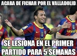 Enlace a Acaba de fichar por el Valladolid