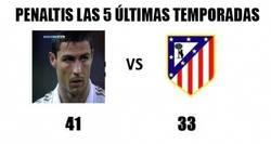 Enlace a Penaltis Cr7 vs penaltis Atlético de Madrid