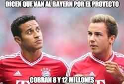 Enlace a Dicen que van al Bayern por el proyecto