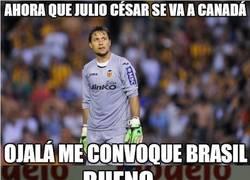 Enlace a Por fin... Diego Alves va con Brasil