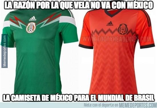 265723 - Nuevo uniforme de México