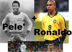 Enlace a Pele + Ronaldo = Penaldo