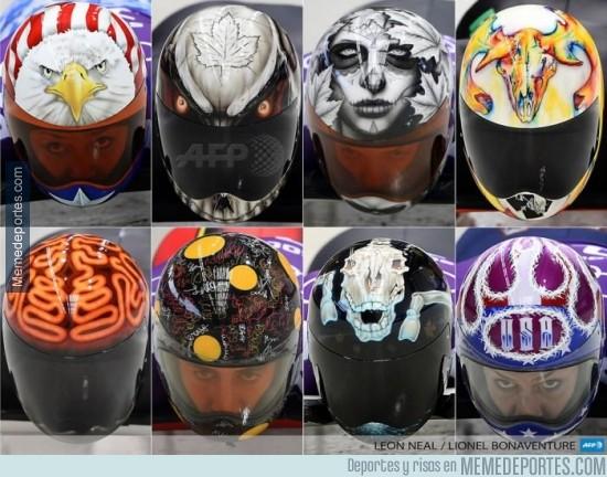 265928 - Mejores cascos de Sochi 2014
