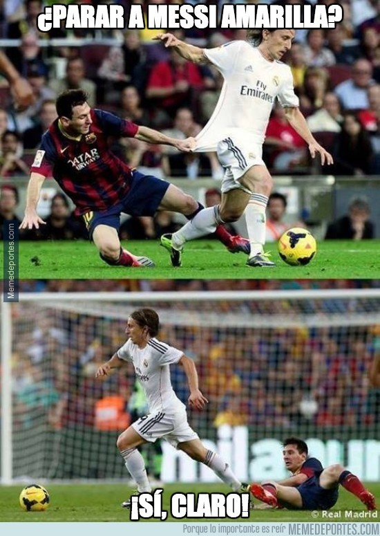 266110 - ¿Parar a Messi amarilla?