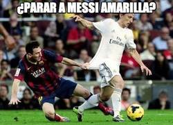 Enlace a ¿Parar a Messi amarilla?