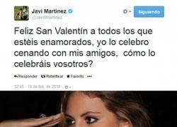 Enlace a Javi Martínez se pasó de listo en San Valentín
