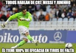 Enlace a Todos hablan de CR7, Messi y Juninho