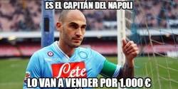 Enlace a Es el capitán del Napoli