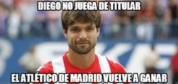 Enlace a Diego no juega de titular