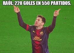 Enlace a Raúl: 228 goles en 550 partidos