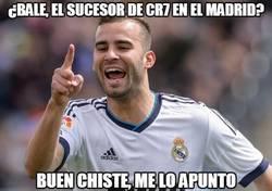 Enlace a ¿Bale, el sucesor de CR7 en el madrid?