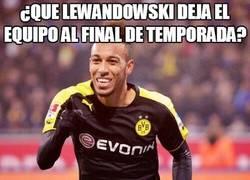 Enlace a ¿Que Lewandowski deja el equipo al final de temporada?