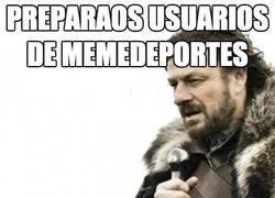 Enlace a Preparaos usuarios de Memedeportes
