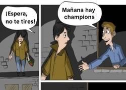 Enlace a ¡Mañana hay Champions!