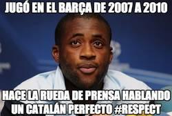 Enlace a Jugó en el Barça de 2007 a 2010