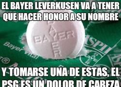 Enlace a El Bayer Leverkusen va a tener que hacer honor a su nombre