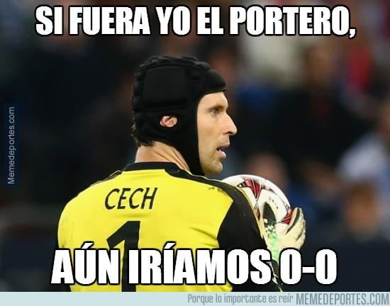 268649 - Si Cech fuera el portero...