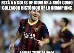 Enlace a Está a 5 goles de igualar a Raúl como goleador histórico de la Champions