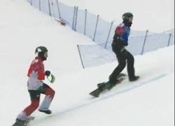 Enlace a GIF: Mientras tanto en los Juegos Olímpicos...