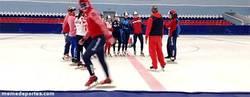 Enlace a GIF: Moonwalk en Sochi