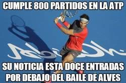 Enlace a Cumple 800 partidos en la ATP
