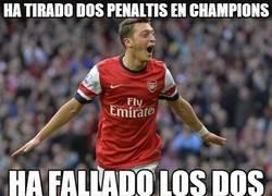 Enlace a Ha tirado dos penaltis en Champions