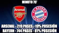 Enlace a Impresionante baño del Bayern del Arsenal