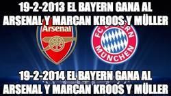 Enlace a Déjà vu total en el Arsenal - Bayern de Munich