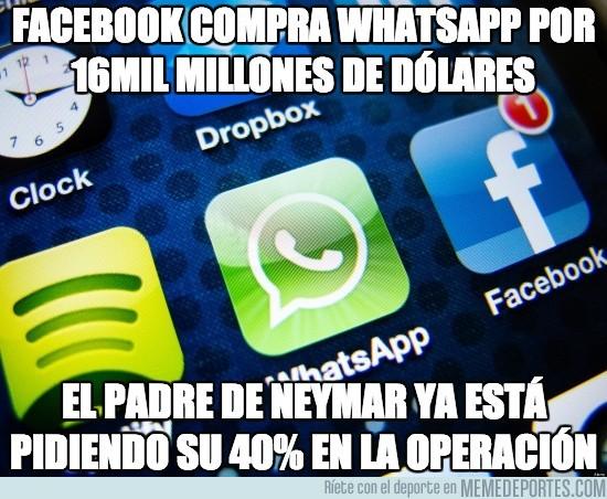 269601 - Facebook compra whatsapp por 16mil millones de dólares