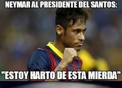 Enlace a Neymar lanza la primera bomba