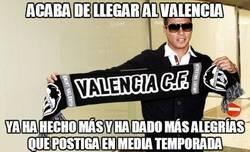 Enlace a Acaba de llegar al Valencia