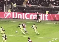 Enlace a GIF: Buen debut de Taarabt ayer contra el Atlético