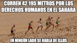 Enlace a Corren 42.195 metros por los derechos humanos en el Sáhara