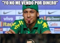 Enlace a Muy buena esa, Neymar