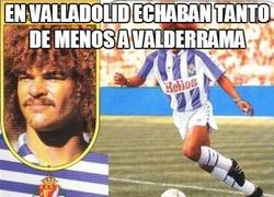 Enlace a En Valladolid echaban tanto de menos a Valderrama