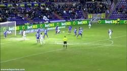 Enlace a GIF: ¿Que Keylor no coge el balón?, lo tengo controla... ¡Oh wait! Así fue el gol del Valladolid