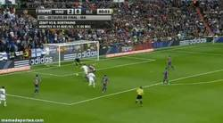 Enlace a GIF: Isco aprovecha sus pocos minutos en el campo y también marca