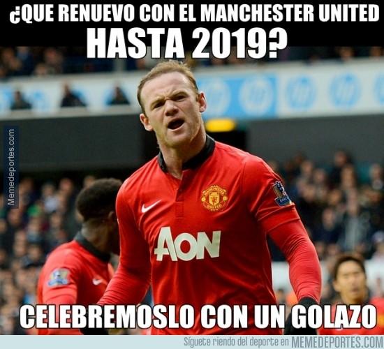 270702 - ¿Que renuevo con el Manchester United hasta 2019?