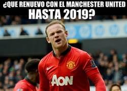 Enlace a ¿Que renuevo con el Manchester United hasta 2019?