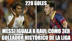 Enlace a Messi, 228 goles, tercer máximo goleador histórico de la Liga BBVA
