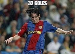 Enlace a Messi, otro récord a la saca