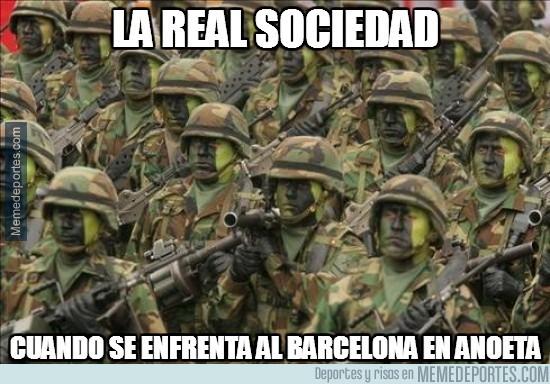 270771 - La Real Sociedad en Anoeta frente al Barça