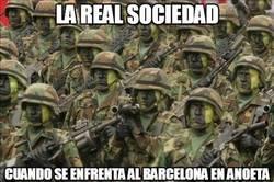 Enlace a La Real Sociedad en Anoeta frente al Barça